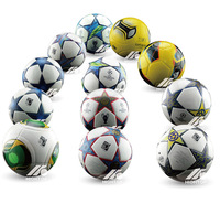 Free Shipping famous brand official size weight laminated thermal bonding soccer ball football for match or training playing