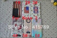 1pcs UK USA flag crown flower floral rose skull hard plastic cover case for Samsung Galaxy Note3 Note 3 N9000 N9005 N9009 N9002