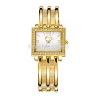 Grady Famous Brand womens luxury New Wrist Quartz Watch Fashion brass Casual Gold & Silver watch
