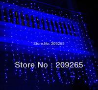 Holiday Festival Curtain Wedding Lights LED String Strip ice bar lamp Garlands 6x3m 800LEDS Blue/White