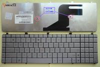 New laptop keyboard for ASUS N55 N55S N55SF N55SL N75 N75SF N75SL US layout Silver keyboard AENJ5U01010 free shipping