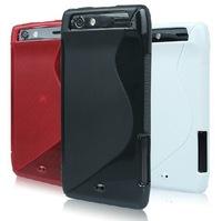 Slim MAXX TPU Gel Cover Case Skin for MOTOROLA DROID RAZR XT912 XT910 MOTO + Screen Protector