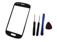 black Outer Glass Touch Screen toque de vidro pantalla tactil  For Samsung Galaxy S3 mini i8190