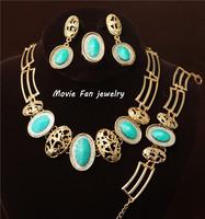 Daren  Necklace Fashion Jewelry Set For Women 4pieces/set jewelry party jewelry Bridal Jewelry  DRSC223