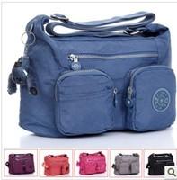 KP-010 FREE SHIPING fashion shoulder monkey women bag waterproof nylon brand designer woman messenger bag