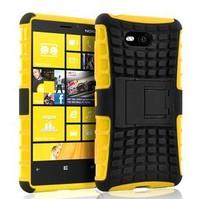 For Nokia Lumia 820 Hard Cover Case Tradesman Armor Heavy Duty Silicone Cover