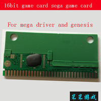16bit MD game card  sega cartridges Card core PCB
