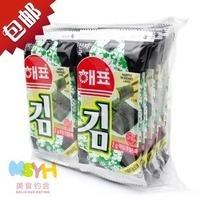 nori  food 10 bags suplemento Korea brand zero import food sea laver seaweed Haipiao 20g suplementos proteina