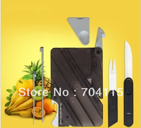Multifunctional Ceramic Card Knife Outdoor Knife Chopsticks Fork Spoon Bottle Opener