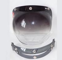 Free Shipping DIY Motorcycle Helmet Ogk Vintage Flight Helmet Bubble Mirror Two Colors GXT-001