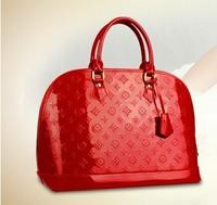Carteras Bags japanned leather women's handbag 2014 fashion red bags handbag bridesmaid women messenger bags bolsas femininas