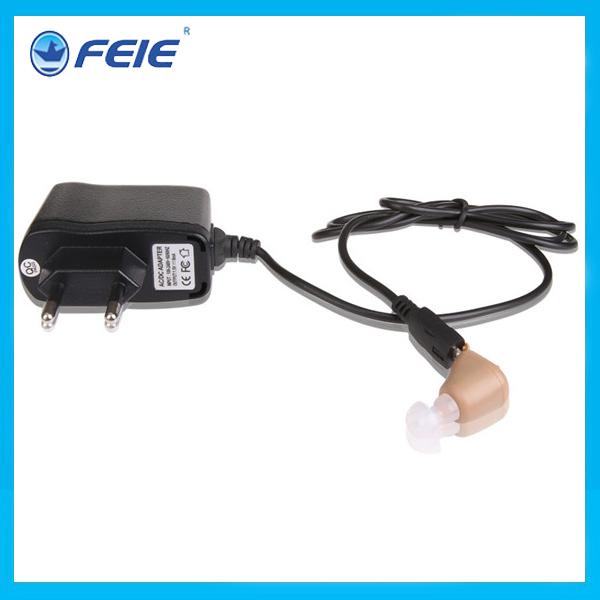 Free Shipping Rechargeable mini hearing aid S-216 portable cheap analog unitron hearing aid(China (Mainland))