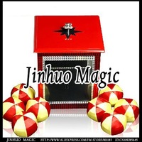Appearing Ball from Box magic trick,1pcs/lot,for  magic prop wholesale