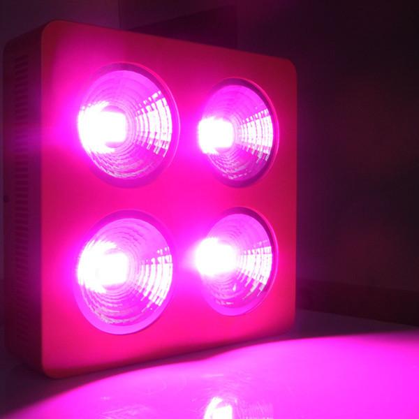 Grátis frete 300 w Cob levou crescer espectro completo de luz com patente reflexivo 7 banda para plantas de estufa interior veg e flor(China (Mainland))