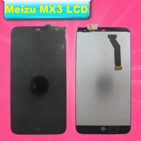 1pcs/lot free shipping Meizu MX3 Original mx2 MX3 lcd phone accessories screen mx3 assembly wholesale and retail