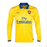 13-14 season Arsenal Long sleeve football clothes Home and away NO.11 Mesut Ozil Jerseys suits