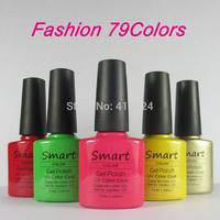 Free shipping 100% Brand New Shellac soak off UV Gel Nail Polish 73Colors Available You Choose 50pcs/lot