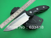New 2014 Black G10 Handle XM-18 tactical knife outdoor survival knife camping