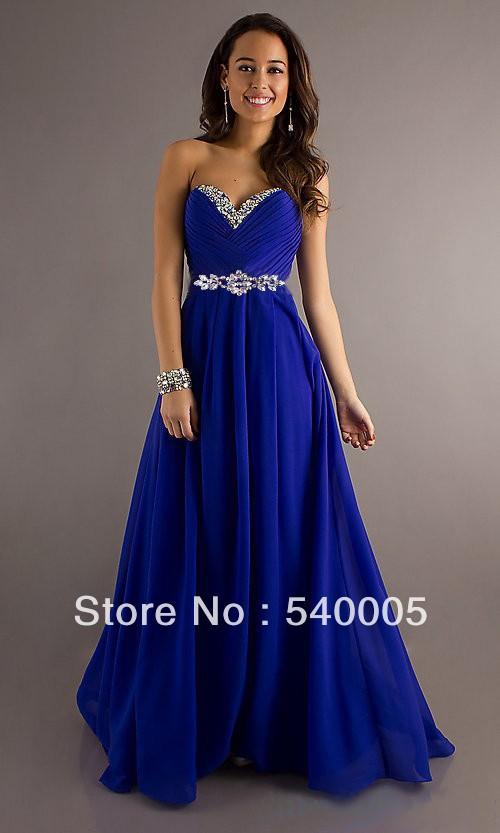 Royal blue maxi dress uk