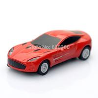 Sale Fashion pen drive cartoon car mini usb flash drive u disk pendrive 2GB 4GB 8GB 16GB 32GB Metal Car Model, free shipping!