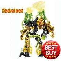 Decool Toy Star wars Robot 4 0 Fight Inserted Blocks Hero Factory Dissolved Strange toys