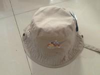 2014 New Children Summer Hat Boys Cap Sunbonnet Cap TU* Lovely Tractor Hat 4 size 48cm,50cm,52cm,54cm
