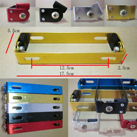 Motorcycle Automobile Adjustable Angle Metal License Plate Holder Bracket  Universal 5color 10pcs/lots free shipping