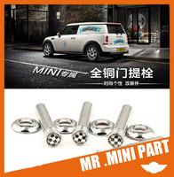 mini Home mini cooper s clubman countryman car door pin car interior switch chrome metal pin HK free
