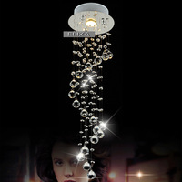 2013 hot-selling modern crystal chandelier lamp living room stairs free shipping