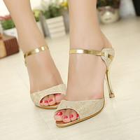 2015 Summer new fashion Women sweet princess high heels shoes fish head sandals fine with sandals women Pumps 165