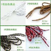 115cm Length Dia. 0.4cm 24 Colors Hiking shoes laces round shoelace outdoor shoes belt multicolour shoelace