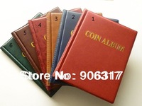 Wholesale 1000 pcs/lot  250 openings world coin stock collection protection album fit big and small coin-Perfect Blinding