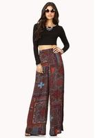 Bohemia wide leg pants Fashion trousers new style ladies pants women palazoo 0376 free shipping