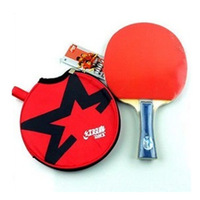 Wholesale Retail Original DHS X1006 1Star Long Handle Or Short Handle Ping Pong Bat Table Tennis Rackets With Ball Bag