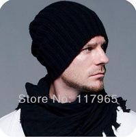 Min.order is $10 (mix order) Free shipping! NEW WINTER MENS BOYS KNIT CROCHET SKI BEANIE KNITTING SOLID HATS CAPS DY75