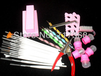 Nail Art Design Set Dotting Painting Drawing Polish Brush Pen kit Tools