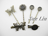 10pcs Bronze Hairpin Bobby pin