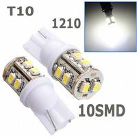 Wholesale 100pcs white T10 194 168 192 W5W 3528 smd 10 smd 10smd 10led super bright Auto led car lighting/t10 wedge led lamp#f3e