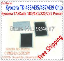 TASKalfa 220/221 Toner Cartridge Chip For Kyocera Laser Printer,Use For Kyocera TK-435/436/437/438/439 Toner Chip,Free Shipping