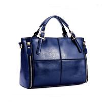 2015 women genuine leather handbags designer high quality cowhide hand bag female shoulder bolsas crossbody women messenger bags