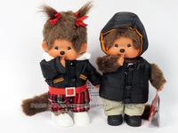 WJ116 Fashion Lovely Plush Stuffed Doll Toy Monchhichi Apparel Style 20 CM Supernova Sale Baby Birthday Christmas Pretty Gift