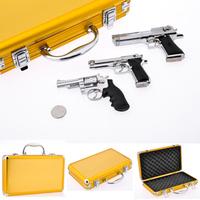 Alloy metal artificial gun model,toy gun triangle set . 5 cs1cf bb,gun model,free shipping,drop shipping.
