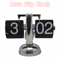 5pcs/lot Wholesale Novelty Desk Flip Clock For Living Room Decorative Clock & Clock Automatic Flip Down