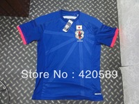2014 world cup Japan home soccer football jersey KAGAWA best thai quality soccer jerseys uniforms Free shipping