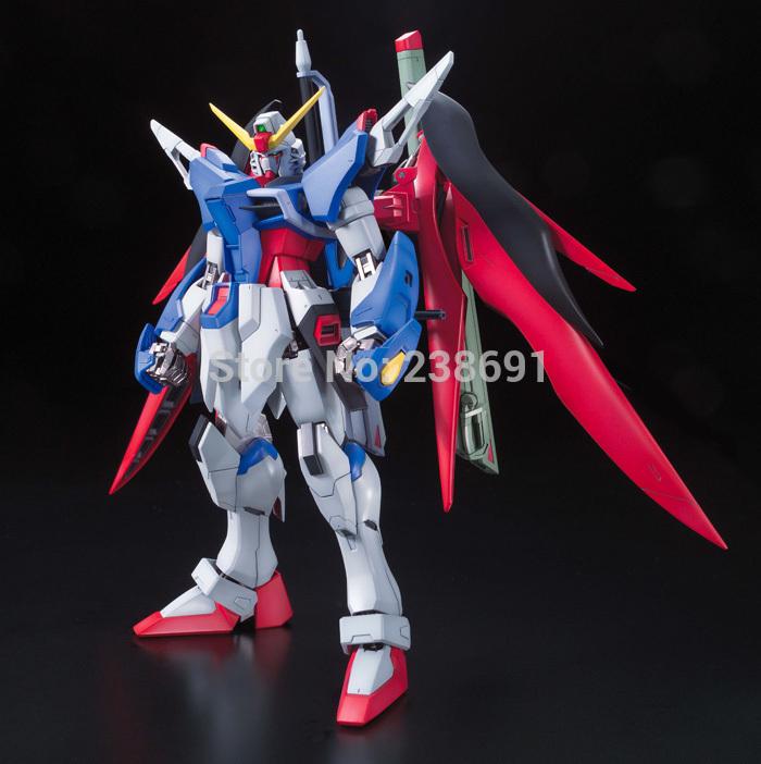 Gundam Self Assembled Kit MG 1/100 destiny gundam Boy's Toy, Robot Model Building , collection, classic toys(China (Mainland))