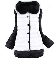 Children's clothing young Girl Winter  Down Coat Medium-long Fashion Parkas 10-14 years old Suitable for height 135 -165 cm