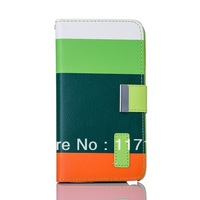 *2014 new arrival* Wallet PU Material Case Skin Cover Phone bags Shell For Samsung Galaxy Note 3 III N9000 /N9005
