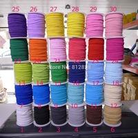 """29 Colors 50 Meters 1/8"""" 3mm  Skinny Elastic Bands"""