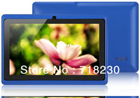 Free Shipping All World Allwinner A13 Q88 Tablet PC Android 4.1 CPU1.2GHz RAM DDR3 512MB ROM 4GB Camera OTG