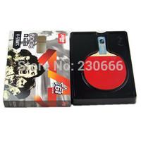 Free shipping dhs table tennis Racket 6006 Shake-Hands Or Short Handle PingPong Rackets